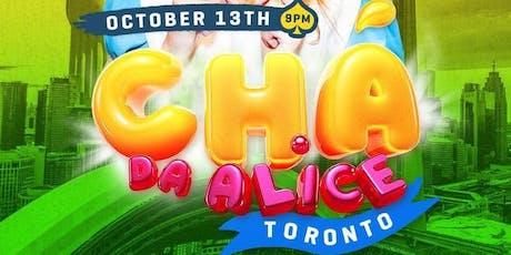 CHÁ DA ALICE -ALICE'S TEA . tickets