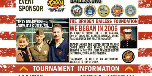 Braden Bailess 14th Memorial Golf Tournament Supporting our Military