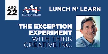 August 22, 2019 - AAF Daytona Beach Lunch N' Learn  tickets