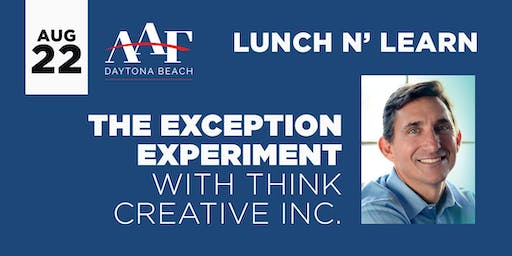 August 22, 2019 - AAF Daytona Beach Lunch N' Learn