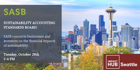 SASB Sustainability Accounting Standards Board Forum tickets