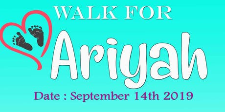 Walk for Ariyah  tickets