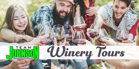 Team Johnson Wine Tour tickets