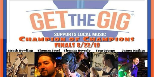 Get the Gig Acoustic Champion of Champions Finals