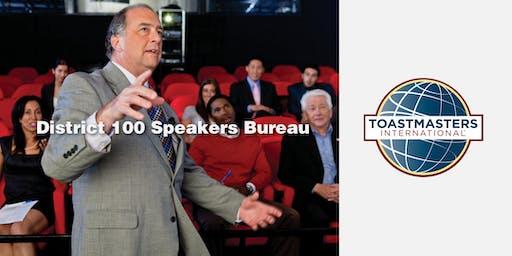 District 100, Speakers Bureau - 09/07/19
