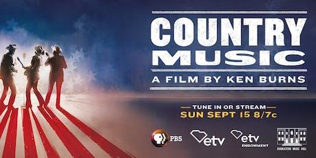 COUNTRY MUSIC Screening - Charleston tickets