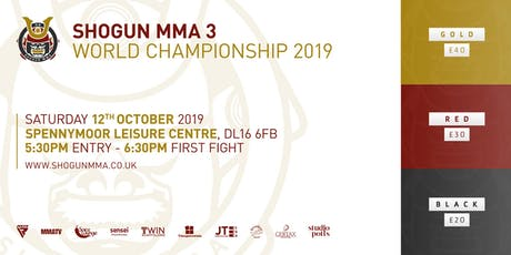 Shogun MMA 3 tickets