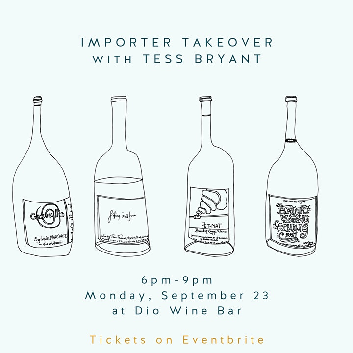 Importer Takeover with Tess Bryant image