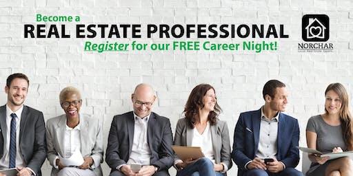 Start Your Real Estate Career Here - Free REALTOR Career Night!