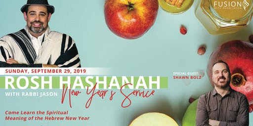 2019 Rosh Hashanah New Years Service with Rabbi Jason and Shawn Bolz