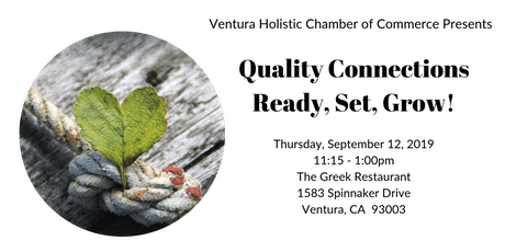 Quality Connections... Ready, Set, Grow! tickets