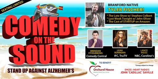 Comedy on The Sound - Stand Up Against Alzheimer's