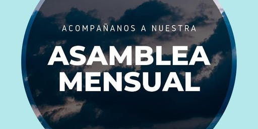 Asamblea Mensual: Agosto