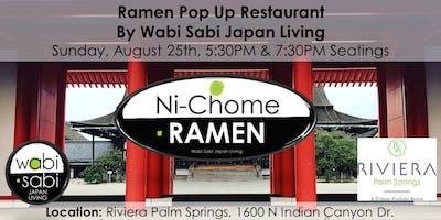Pop Up Ramen Restaurant Sun 8/25 7:30PM