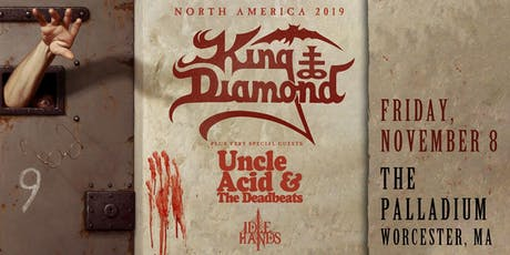KING DIAMOND www.kingdiamondcoven.com tickets