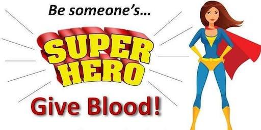 Blood Drive - Be Someone's Superhero!
