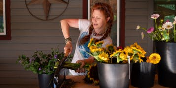 Floral Arranging Workshop with Fireside Farm