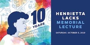 2019 Henrietta Lacks Memorial Lecture