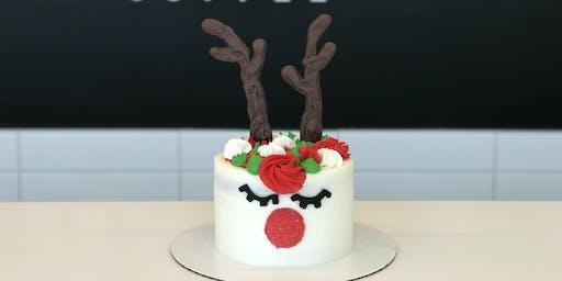 Reindeer Cake Decorating Class