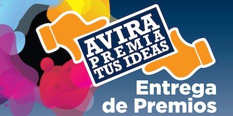 Concurso AVIRA 2019. Proyección y entrega de premios. entradas