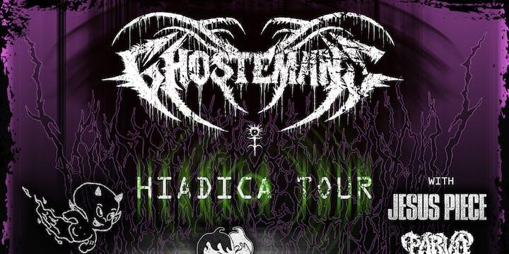 Ghostemane: Hiadica Tour