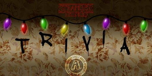 Arooga's Warwick 'Stranger Things' Trivia Night - Win Great Prizes