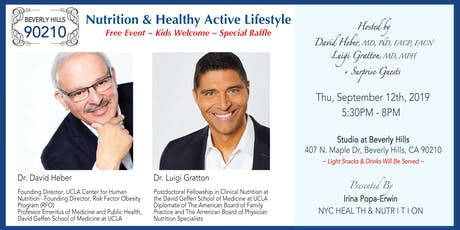 Nutrition & Healthy Active Lifestyle tickets