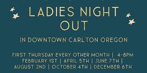 Ladies Night Out at Troon Vineyards
