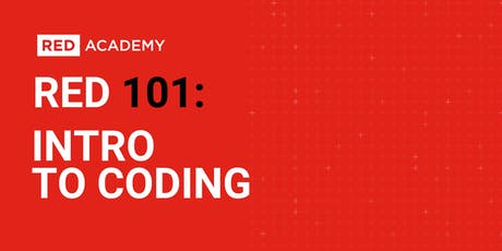 RED 101: Intro To Coding tickets