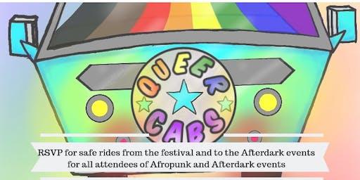 AFROPUNK AFTERDARK Series Shuttle by QueerCabs 2019