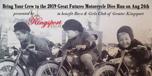 2019 Great Futures Motorcycle Dice Run to benefit Boys & Girls Club