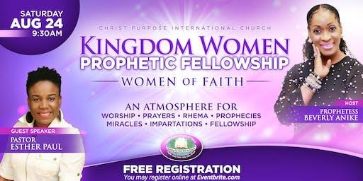 Kingdom WOMEN Prophetic Fellowship