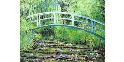 Paint it like Monet - Water Lillies and Japanese Bridge