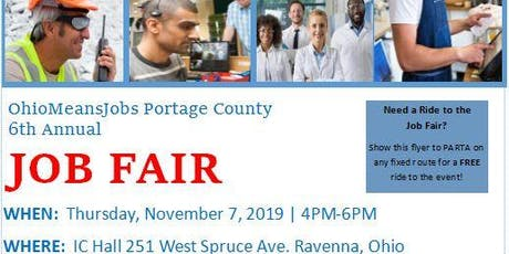 Job Fair | OhioMeansJobs Portage County 2019 tickets