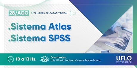 Taller de Capacitación Metodológica: Sistemas Atlas.ti - SPSS entradas