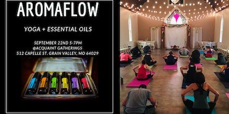 AromaFlow=Yoga + Essential Oils tickets