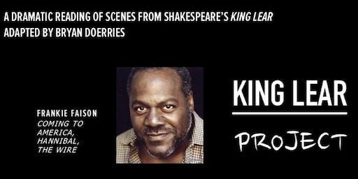 King Lear at Woodside Senior Center