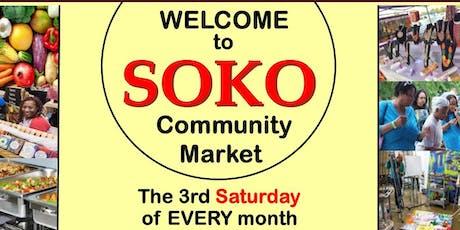 Soko Community Market - September 2019 tickets