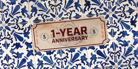 Spanish Marie's 1-Year Anniversary & Grand Reveal tickets