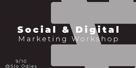 Social & Digital Marketing Workshop tickets