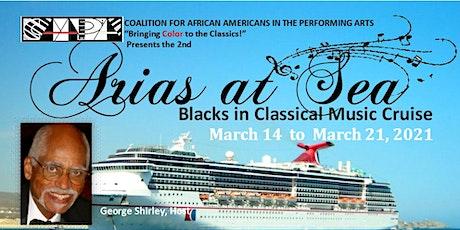 Arias at Sea: Blacks in Classical Music Cruise tickets