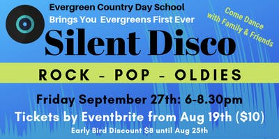 Evergreen Country Day School - SILENT DISCO FUNDRAISER