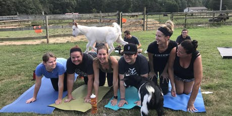 Carolina Goat Yoga Class: Sept 21st tickets