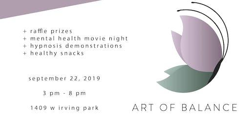 Art of Balance Hosts: Mental Health Open House