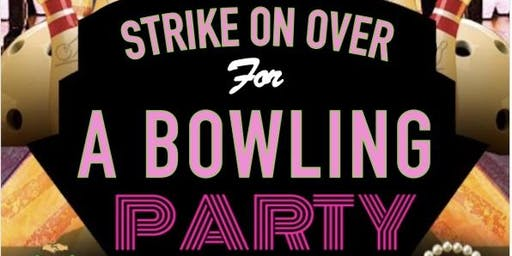STRIKE on over for a BOWLING PARTY