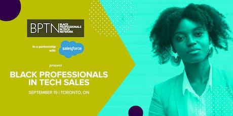 BPTN & Salesforce | Black Professionals in Tech Sales tickets