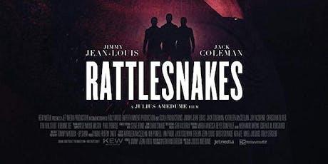 Urban Film Festival Presents RATTLESNAKES  Starring Jimmy Jean-Louis tickets