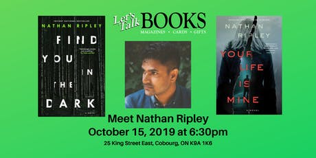 Nathan Ripley - Author Event tickets