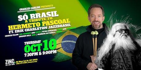 Só Brasil: Erik Charlston JazzBrasil tickets