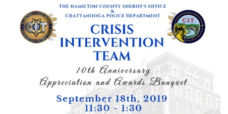 Hamilton Co Sheriff's Office & Chattanooga Police Dept CIT Appreciation and Awards Banquet tickets